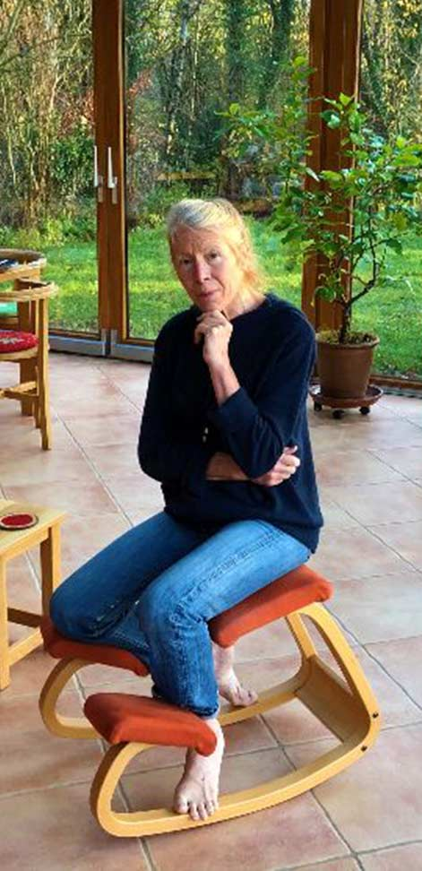 Heide-Marie Schmid-Borgschulte in her office